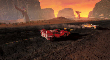 Games Workshop car combat strategy Dark Future: Blood Red States reveals first gameplay