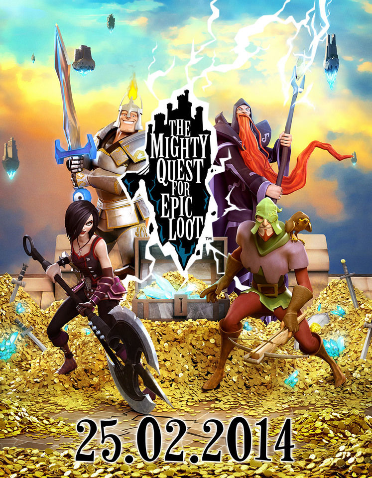 The Mighty Quest for Epic Loot entering Open Beta on 25th February