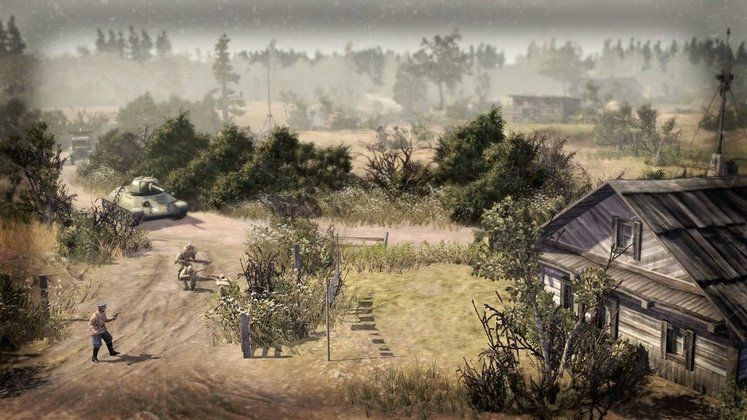 Free update to Company of Heroes 2 includes Langres map