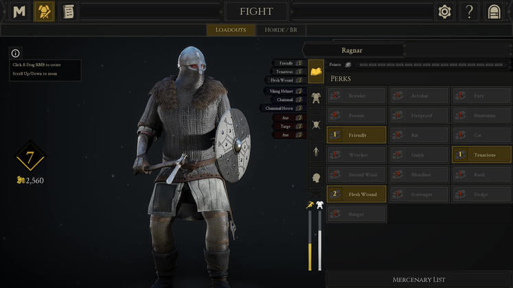 Mordhau Perks - What are the Best Perks?
