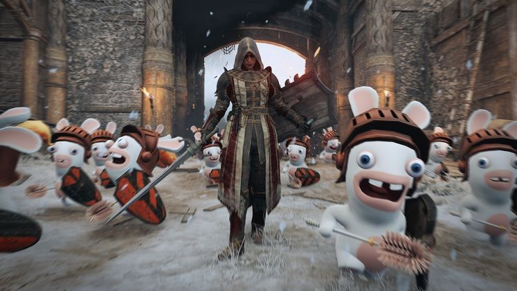 For Honor Special April Fools' Day Event Features Rabbids