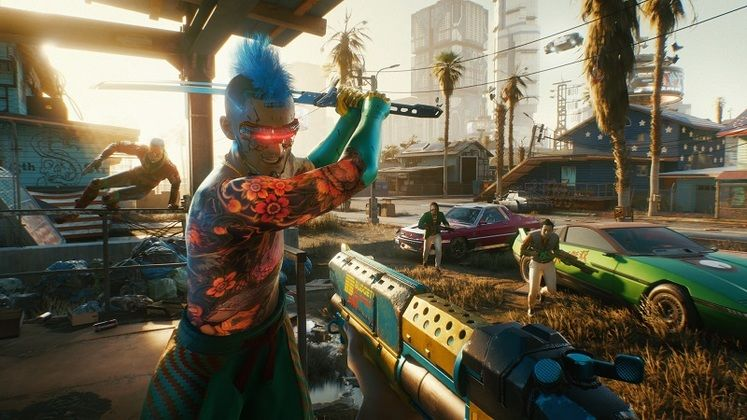 Here's How A Cyberpunk 2077 Third-Person Mod Could Potentially Look