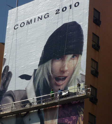 Final Fantasy XIII arriving in West next year, 124-ft banner drops hint