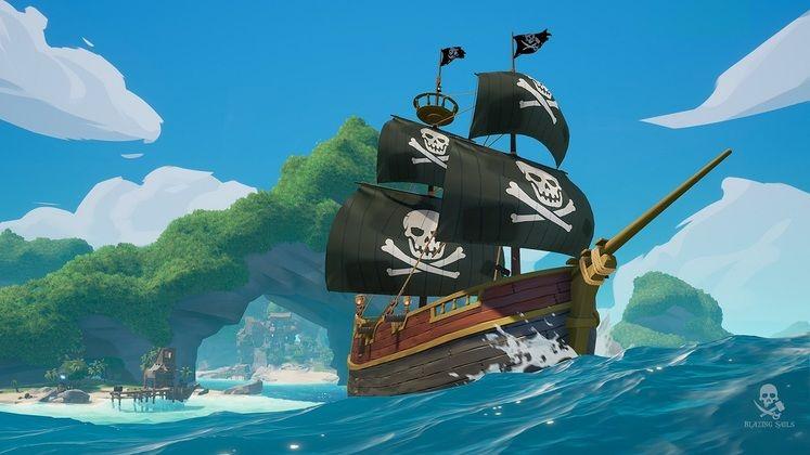Iceberg Interactive to Publish Pirate Battle Royale Blazing Sails