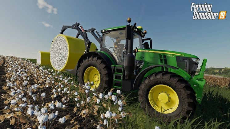 Farming Simulator 19 John Deere Cotton DLC Adds New Vehicle and Equipment