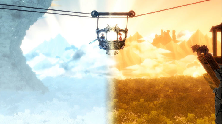Degrees of Separation Is A Colorful Puzzle Platformer With A Story Written by Chris Avellone