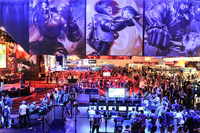 340000 attended GamesCom, up 23% from last year