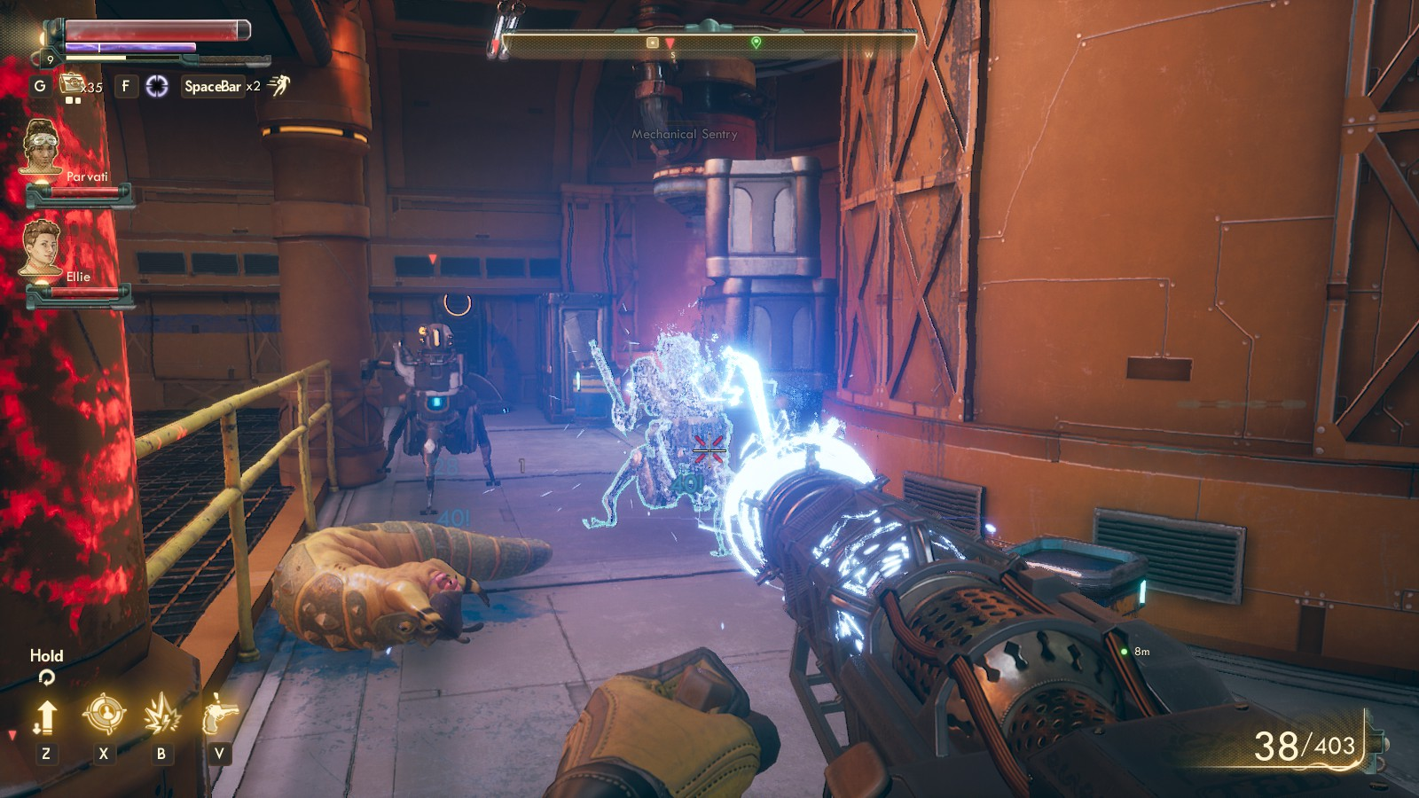 The Outer Worlds Holster How To Put Weapons Away Gamewatcher