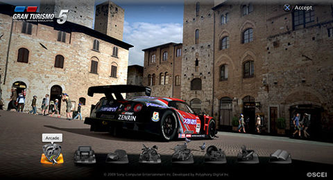 Polyphony's GT5 sports a thousand cars and sixty tracks, out Q4 '09