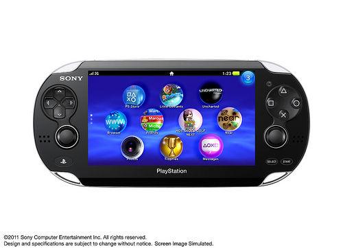 Sony reveals the NGP