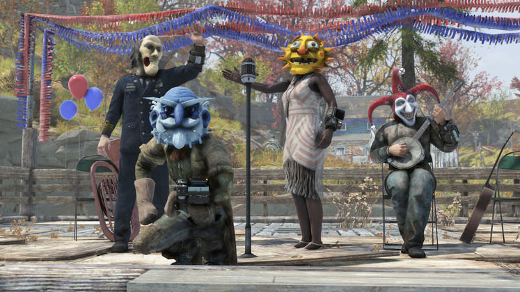 Fallout 76 Fasnacht Day 2021 Event - Here's the Parade's Start, End Dates, and Rewards