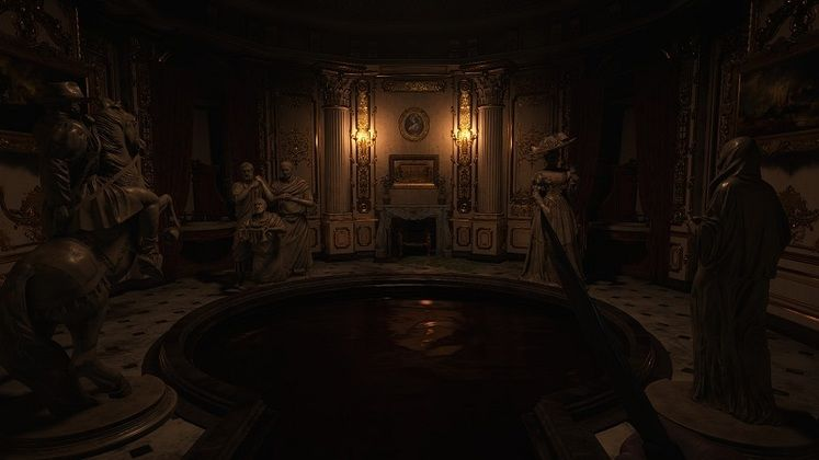 Resident Evil Village Hall of Ablution Puzzle - How to Rotate the Statues