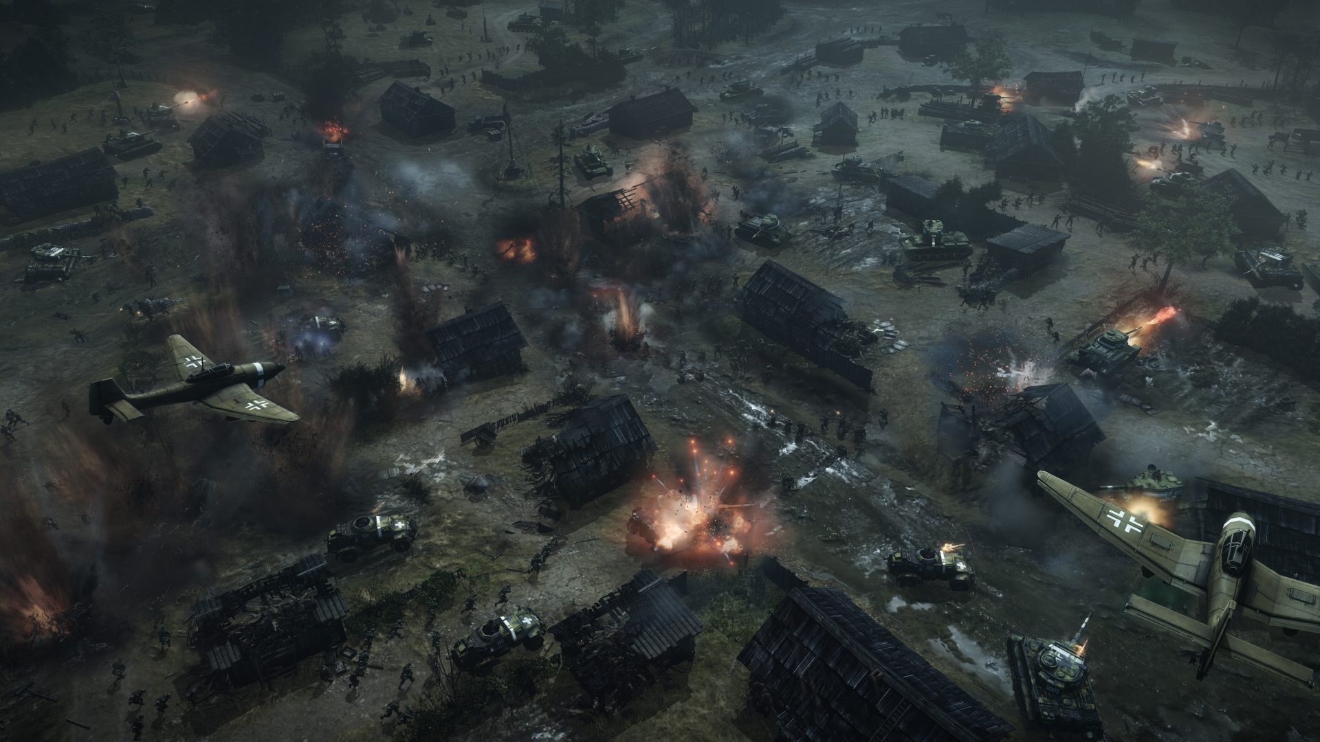 Sega Releases New Dlc And Updates For Company Of Heroes Gamewatcher