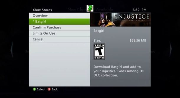 Batgirl leaked as second DLC for Injustice: Gods Among Us