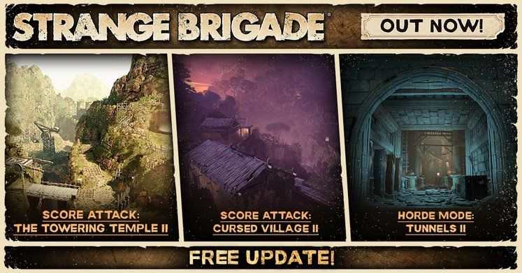 Free Strange Brigade DLC Out Today Adds 3 New Maps