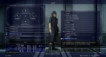 Final Fantasy XV Armiger Unleashed - Here's where to find it