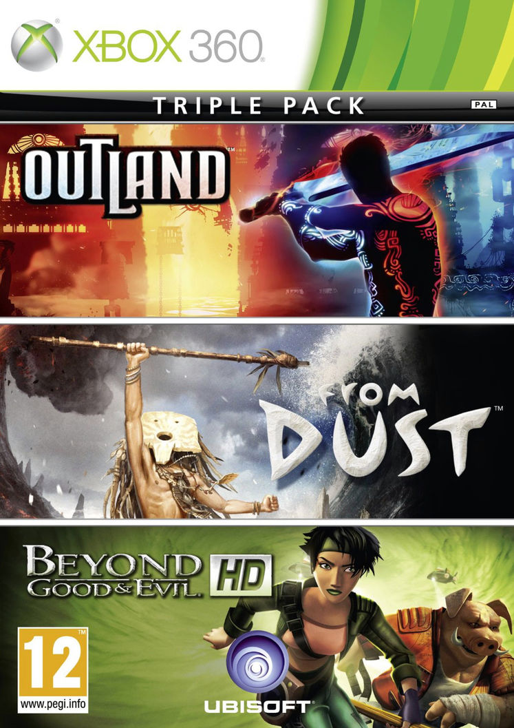 Beyond Good & Evil HD, From Dust, Outland getting bundled
