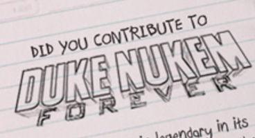 Duke Nukem Forever contributors