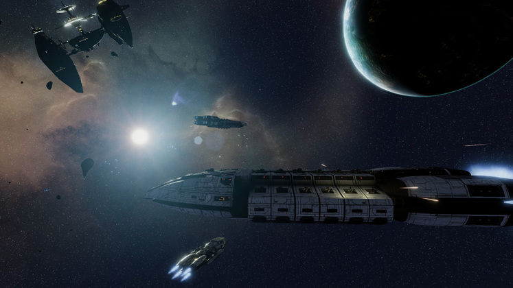 Battlestar Galactica Deadlock DLC Adds Four New Ships And More Weapon Types
