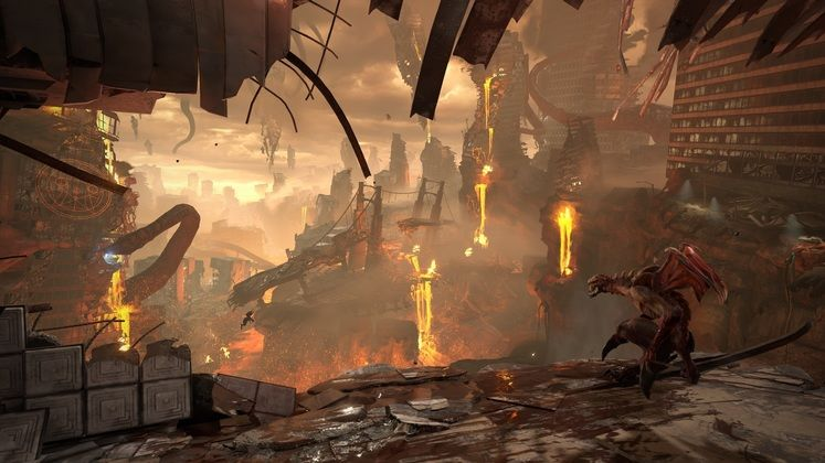 Check out new Doom Eternal gameplay running on Google's Stadia