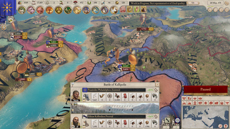 Imperator: Rome Pompey Patch 1.1 - Patch Notes Revealed