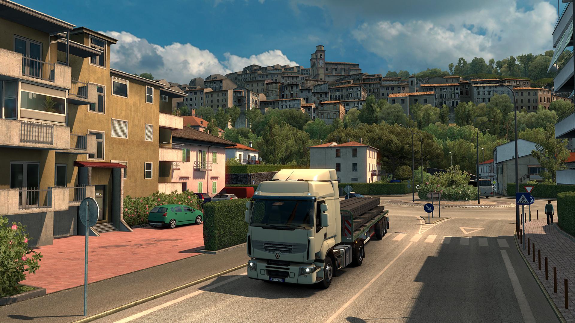 euro truck simulator 2 italia dlc is out next week. Black Bedroom Furniture Sets. Home Design Ideas