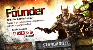 Infinite Crisis Founder packages revealed, include immediate closed beta access