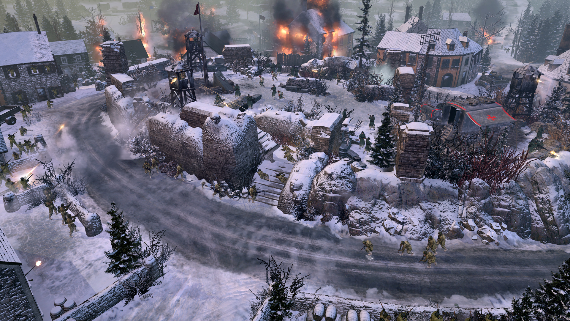 Relic Announces Ardennes Assault Singleplayer Expansion Gamewatcher