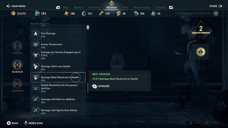 Assassin's Creed Odyssey Introduces Mastery Levels