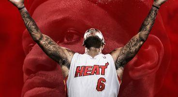 LeBron James graces cover of NBA 2K14