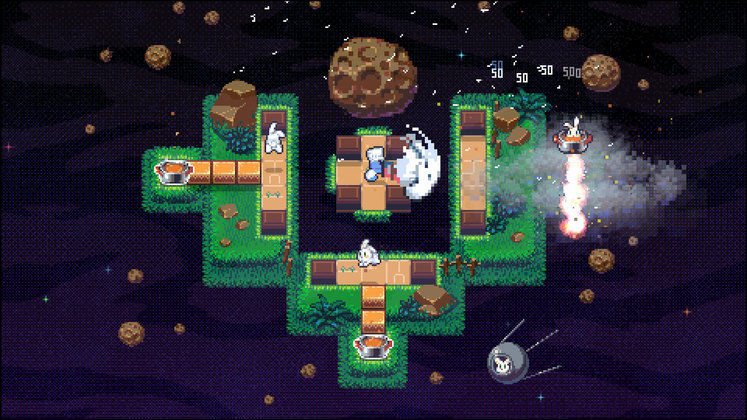 Radical Rabbit Stew Is an Action-Arcade Game in Which You Make Rabbit Stew in Space