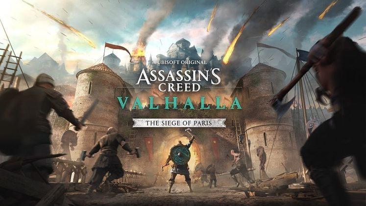 Assassin's Creed Valhalla Siege of Paris Expansion Release Date Set for August