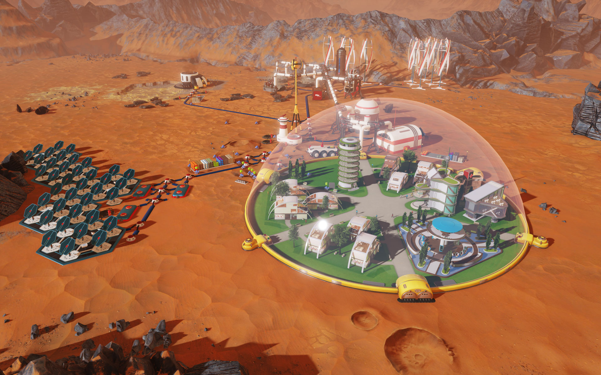 Surviving Mars PC Preview | GameWatcher