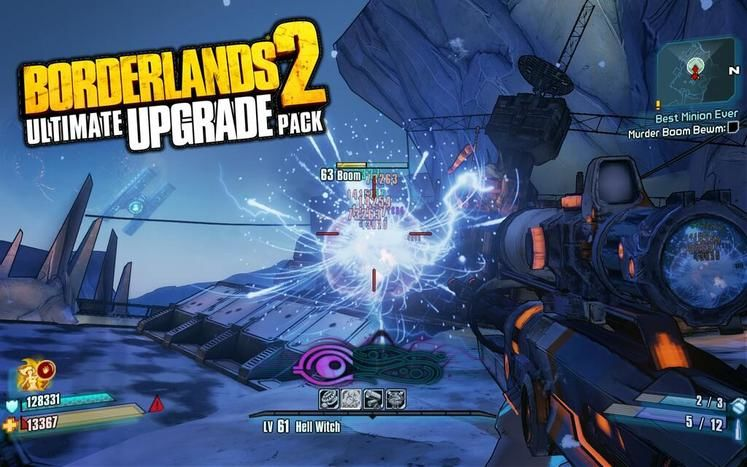Ultimate Vault Hunter Upgrade Pack for Borderlands 2 now available