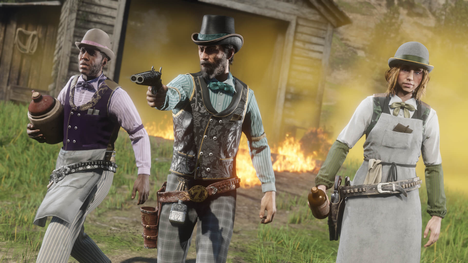Red Dead Online Creeping Thyme Location Guide | GameWatcher