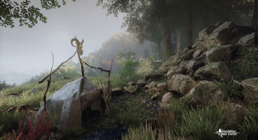 The Vanishing of Ethan Carter inspired by