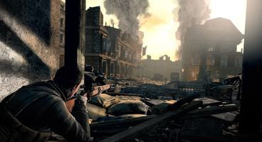 Sniper Elite V2 takes UK number 1 spot