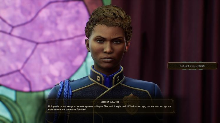 The Outer Worlds Board Reputation - how to reset