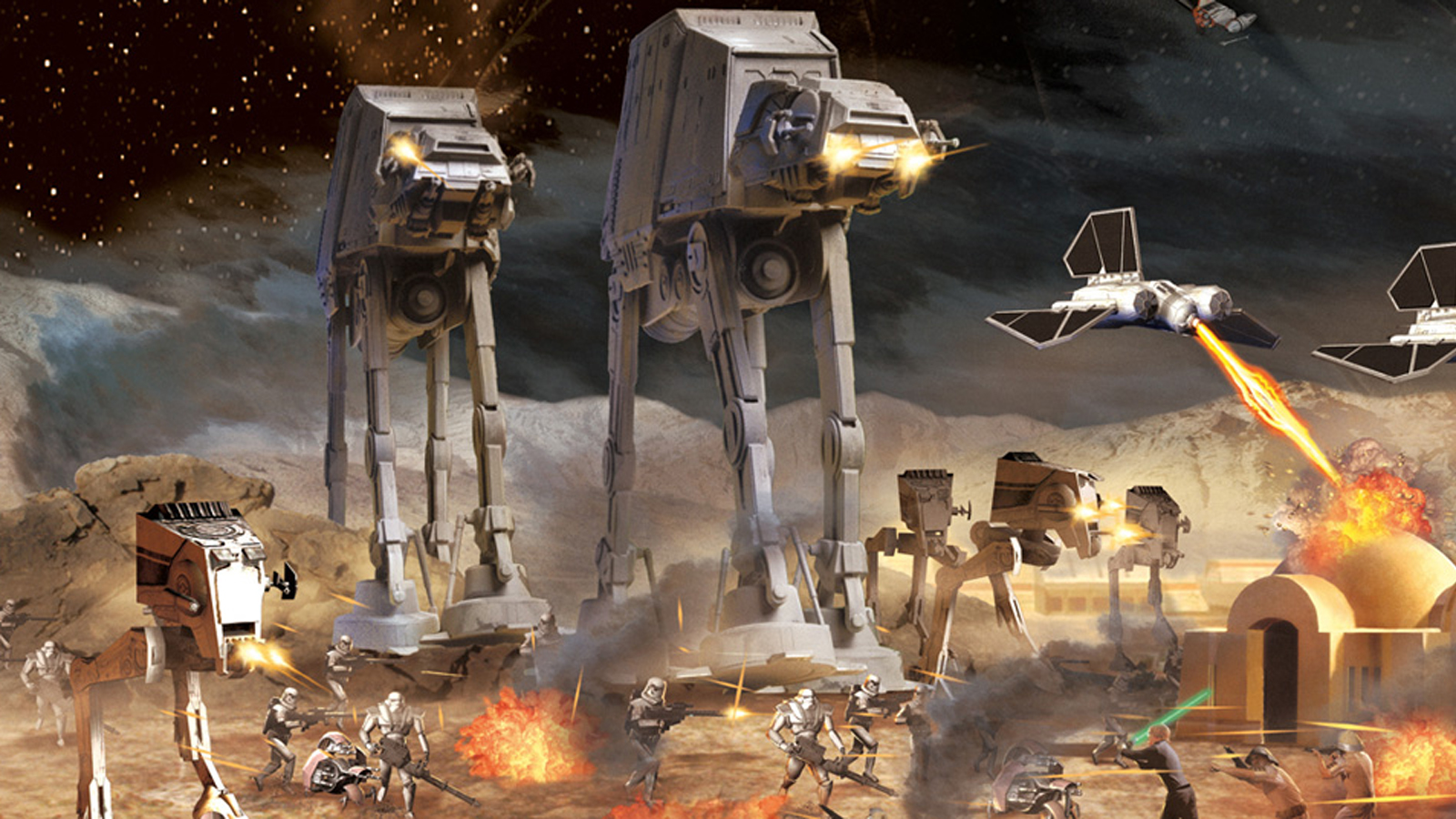 Petroglyph approached EA about making Star Wars: Empire At