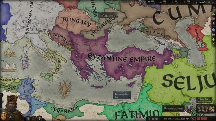 This Crusader Kings 3 Mod Gives the Byzantine Empire A More Unique Feel