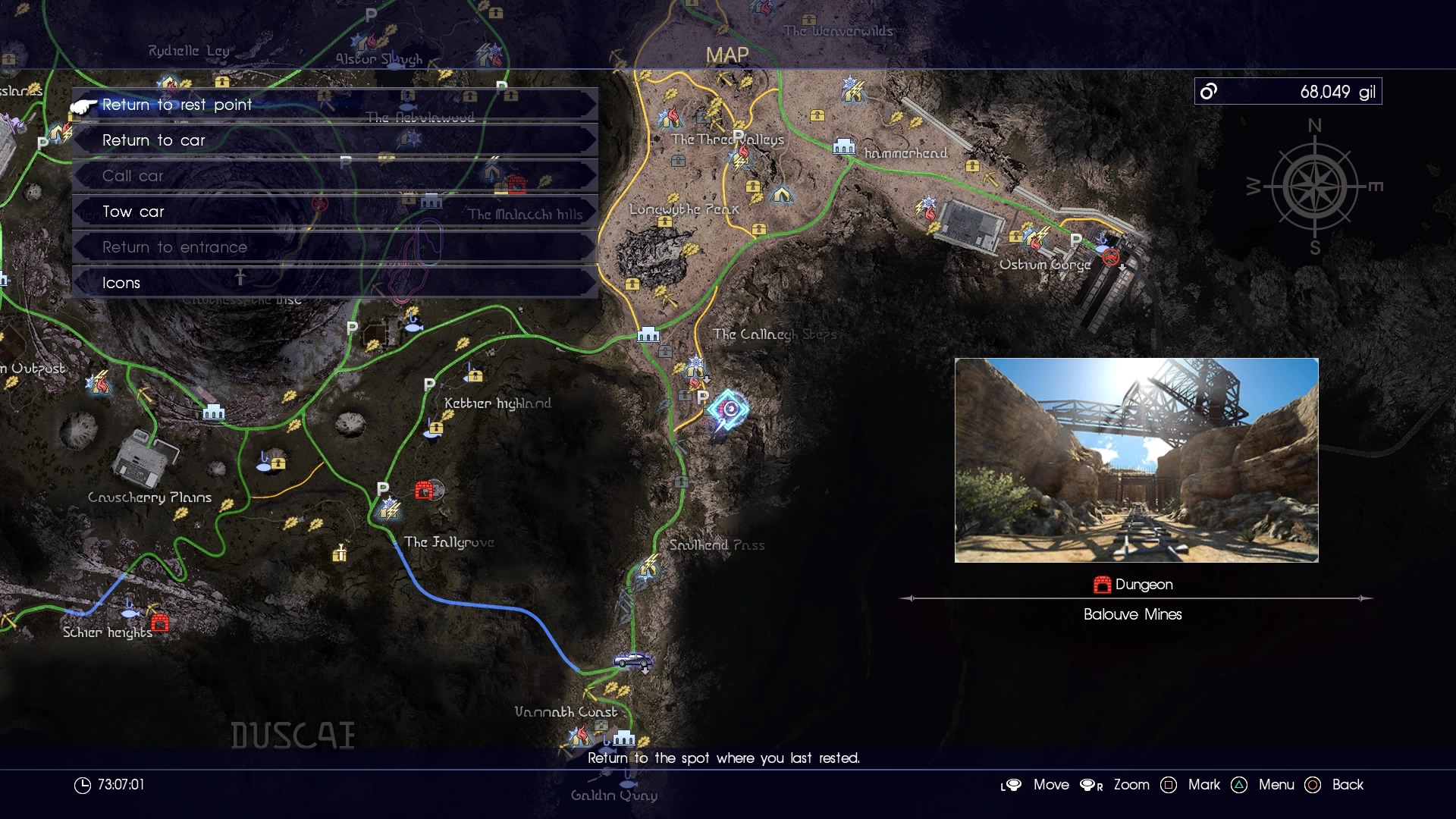 Final Fantasy XV Royal Arms Locations
