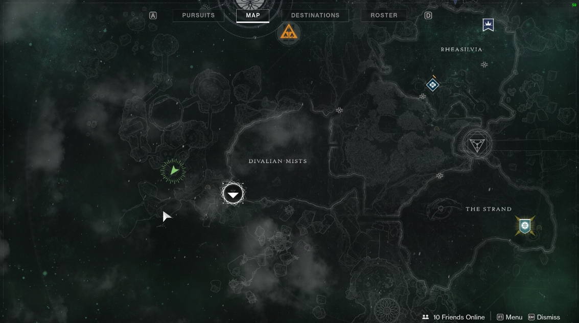 Destiny 2 Spine Of Keres Lumina Chest Location Gamewatcher