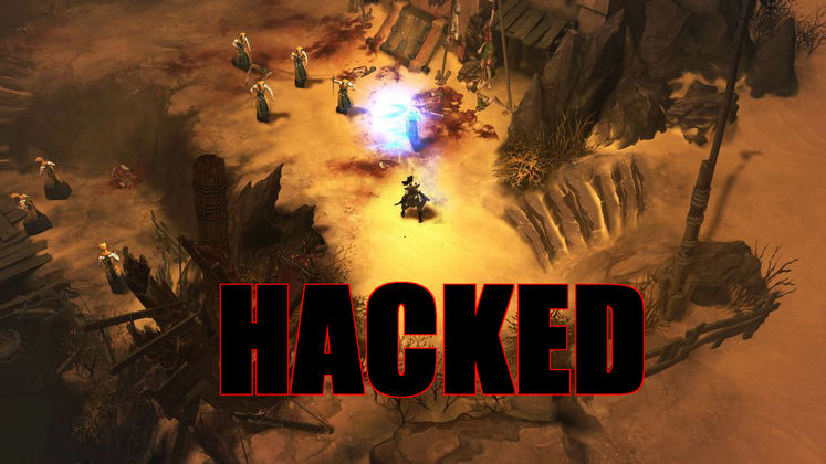 Diablo III hacked, users lose money and items