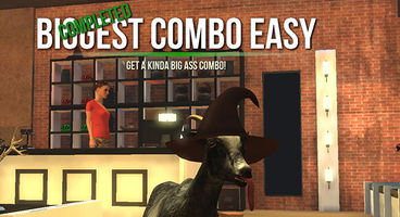 Free content update June 3rd for Goat Simulator, new map and split-screen