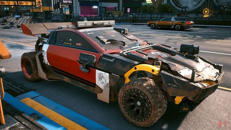 This Cyberpunk 2077 Mod Lets You Change Your Car's Appearance
