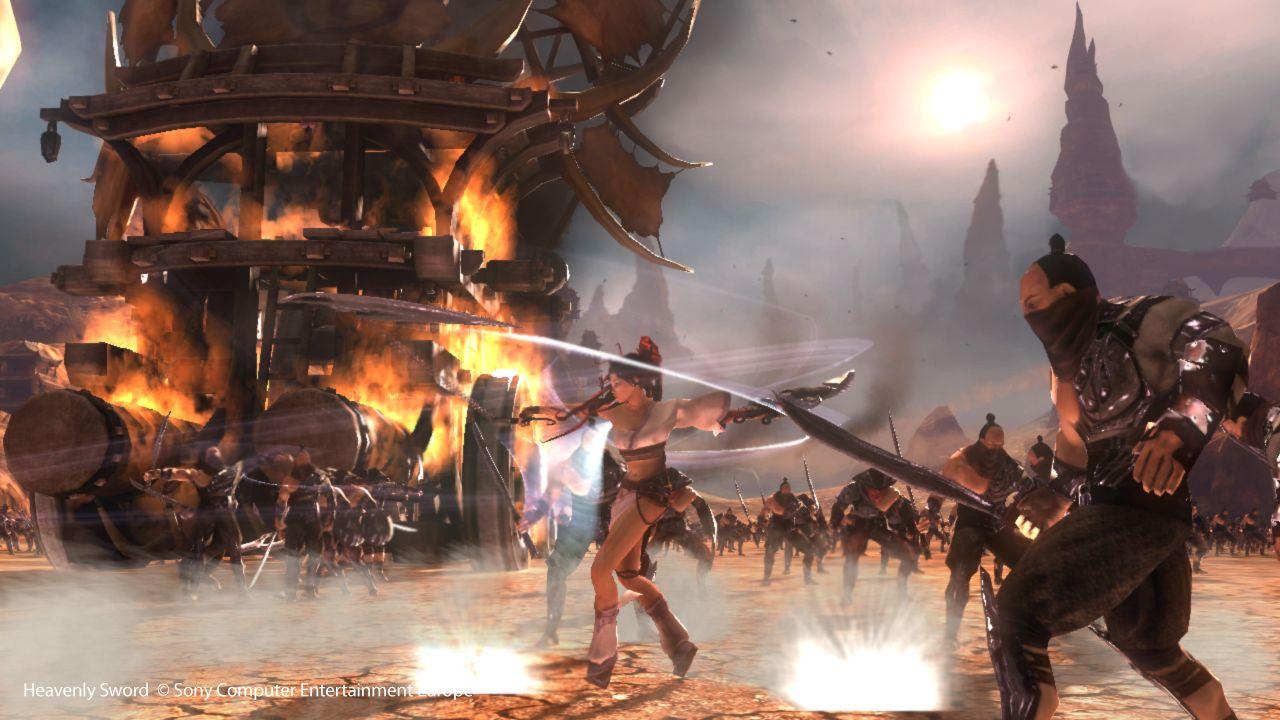 Heavenly Sword 2 Being Developed Gamewatcher