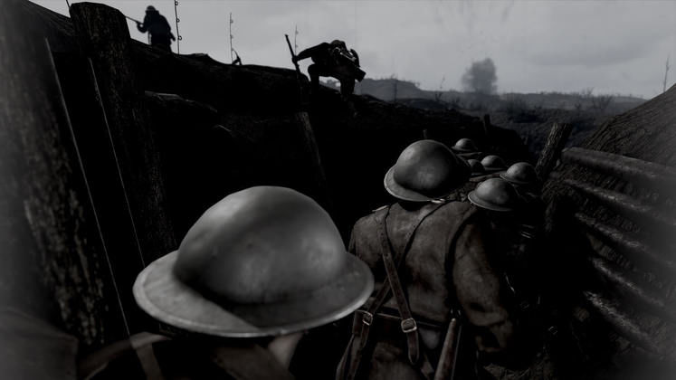 WWI Shooters Verdun and Tannenberg Get Film Memoir Black and White Mode