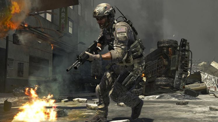 Modern Warfare 3 using Steamworks