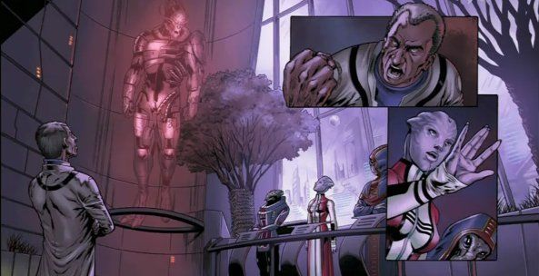 Mass Effect 2 'interactive comic' unveiled