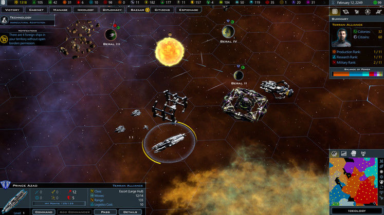 Galactic Civilizations III: Intrigue Expansion Announced